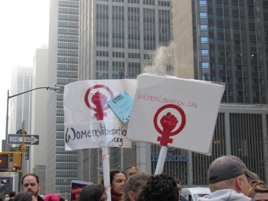 The Women's Liberation group fights for the equal rights of women. Photo Credit: Vanessa Alvarez/AchonaOnline