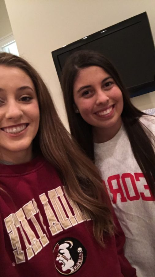Wearing college sweatshirts to school is a way for students to show off their pride in their future school, and the class of 2017 will get to start this tradition earlier than normal.