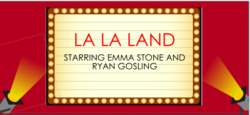 Credit: Valerie White/Achona Online. La La Land currently has a box office profit of 68.2 million.