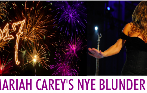 Mariah Carey rings in the new year with a major sound complication and lip sync error