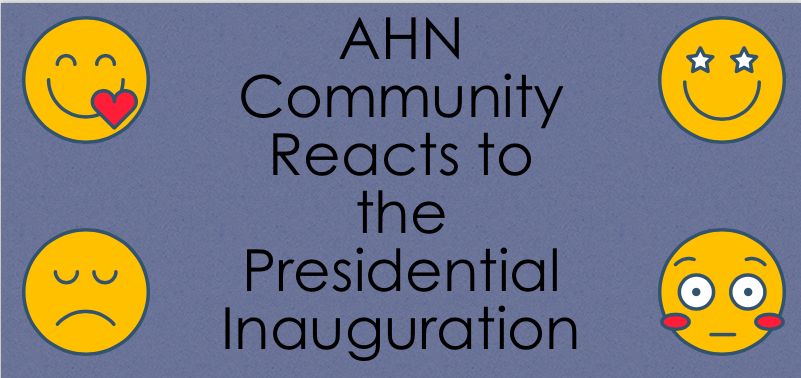 With opinions from the Presidential Inauguration still heated, AHN students express their feelings following the event. (Photo Credit: Samantha Cano/Achona Online)