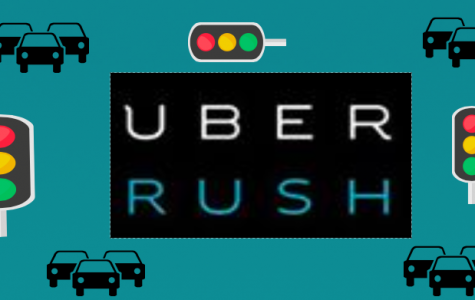 "Uber founder, Travis Kalanick, states, ""Delivering with UberRUSH is faster than you can even imagine, and for less than you'll believe."""