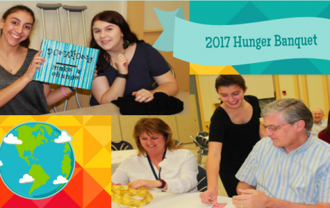 Interact Club's hard work made the 2017 Hunger Banquet a successful event. Photo Credit: Sophia Doussan | Edited by Sara Phillips