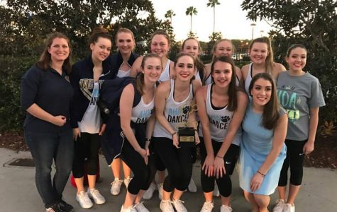 The girls received a Golden Mickey Award for their performance at Disney Springs.