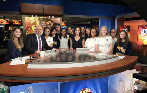 Staff members were able to meet some stars of Fox 13 including Kelly Ring, Walter Allen, Russell Rhodes, and Vanessa Ruffes.