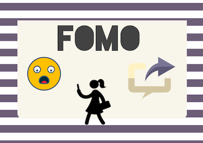 According to a survey on Mashable in 2013, 56% of people claim to have FOMO or some sort of discontent when missing events.