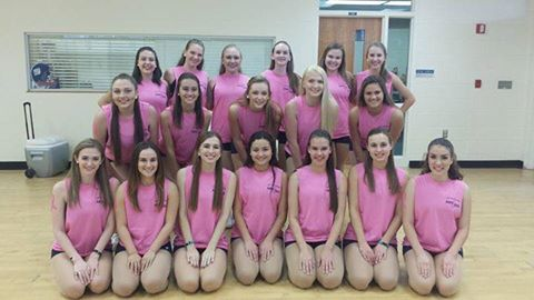 The Jaguarette Varsity Dance Team is looking for new members for their 2017-2018 season! (Photo Credit: Samantha Cano/Achona Online)