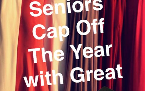Seniors have exactly one month till graduation on May 25.