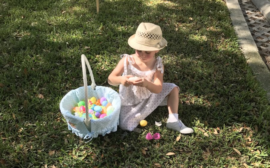 Academy recently hosted an Alumni Easter egg hunt with a day full of activities for their children to experience a day full of fun at Academy. Photo Credit: Gabrielle Babin (used with permission).
