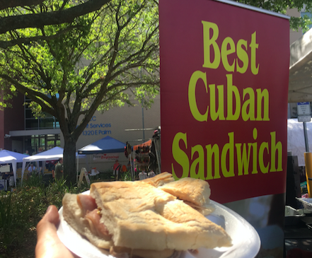 A Cuban sandwich is a variation of a ham and cheese sandwich that originated in cafes catering to Cuban workers in Key West and Ybor City. Photo Credit: Chloe Paman/Achona Online