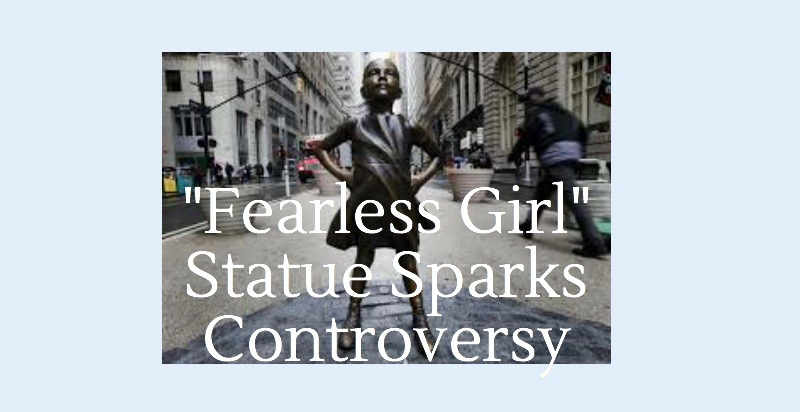 The+%22Fearless+Girl%22+statue+has+become+a+symbol+of+female+empowerment+since+its+installment+in+March.+