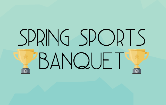 Credit: Olivia Fernandez/Achona Online (Piktochart) Two banquets are held a year, one in the winter to celebrate winter sports, and one in the spring to celebrate spring sports.