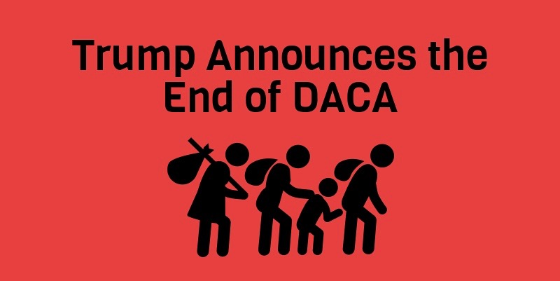 Over 800,000 people are currently protected under DACA.