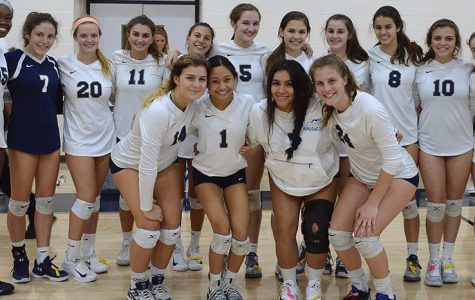 Volleyball Competes Against Cardinal Mooney in the District Semi-Finals