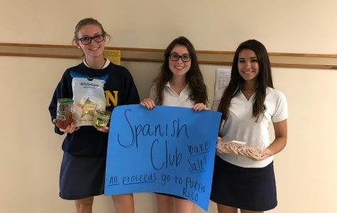 Many students asked to join the Spanish Club Committee to help plan the bake sale and tag day.