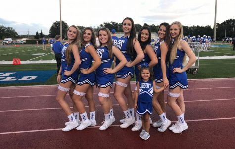 Jesuit Cheerleading Celebrates Senior Night