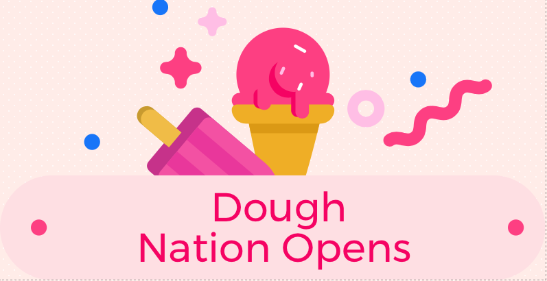 Dough Nation serves cookie dough the same way ice cream may be served at an ice cream store. Photo Credit: Callie Mellon/ Achona Online