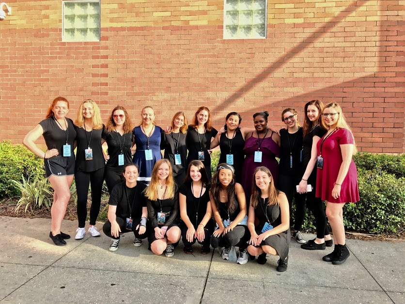 (Photo Credit: Cristina Suarez-Solar/ Used with permission) Thespian Districts takes place all in one day.