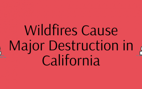 The California wildfires have been hard to contain because of the large amount of area they cover.