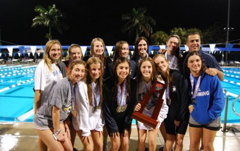 This is the swim team's second time receiving the runner-up title at States. Photo Credit: Sierra Wills/Achona Online