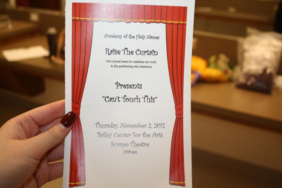 Raise the Curtain was brought to the Academy by Kimbler and has been an AHN tradition ever since. Photo Credit: Gracie Wipfli/ Achona Online.