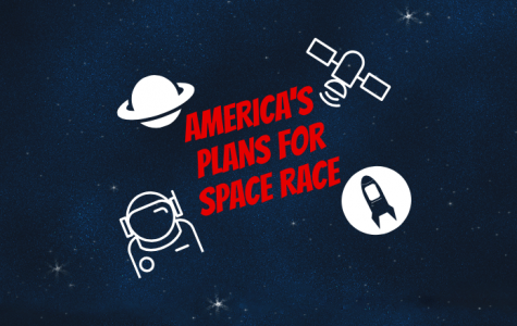 """Pence said, """"America must be as dominant in space as we are here on earth."""""""