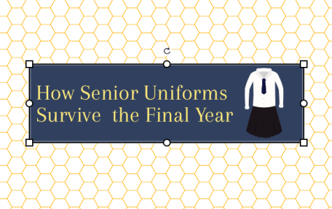 Seniors in their final year at Academy refuse to replace old uniforms and will do anything to make them last. (Photo Credit: Caitlin Weaver/ Achona Online)