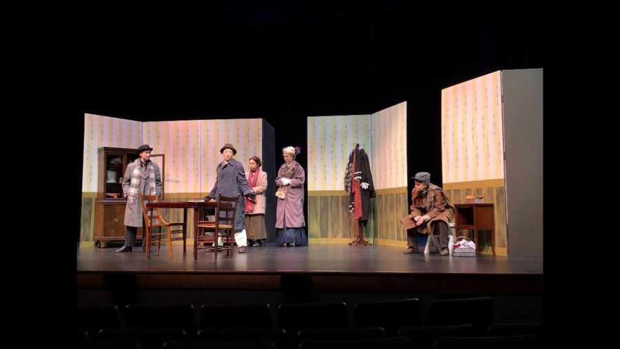The Trifles cast has been preparing all year. Photo Credit: Stephanie Oehler (used with permission).