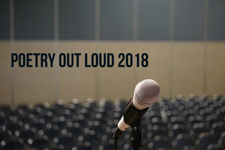 This is the ninth consecutive year AHN has participated in Poetry Out Loud (Photo Credit: Gracie Wipfli/Achona Online).