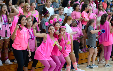 Spike and Splash is an annual AHN event that raises money for breast cancer awareness month.(Photo Credit: Mia Lopez/ achona online)