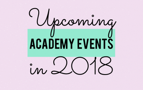 Upcoming Academy Events in 2018