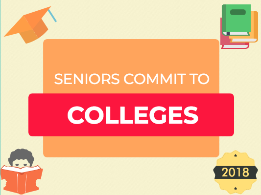 Seniors Commit to College