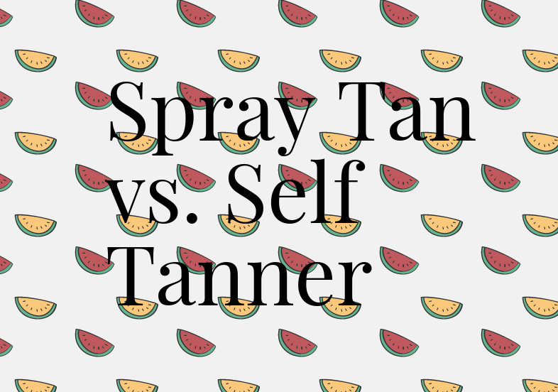Spray tans can be dangerous for your health, while self tanners do not contain the harmful chemicals and offer a more natural approach to tanning. Photo Credit: Alexis Alvarez/ Achona Online.