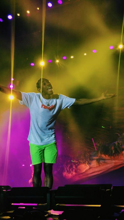 "Tyler, the Creator is attending almost 15 music festivals along the tour route for ""Flower Boy"". (Photo Credit: Alex Smith/Achona Online)"
