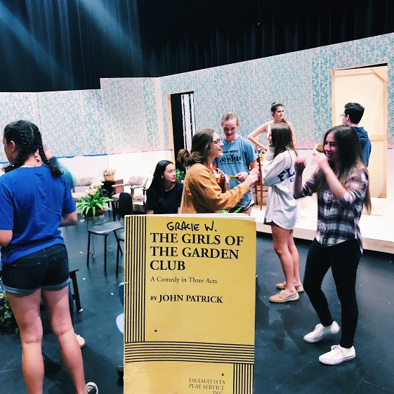 Girls of the Garden Club is a three act play.