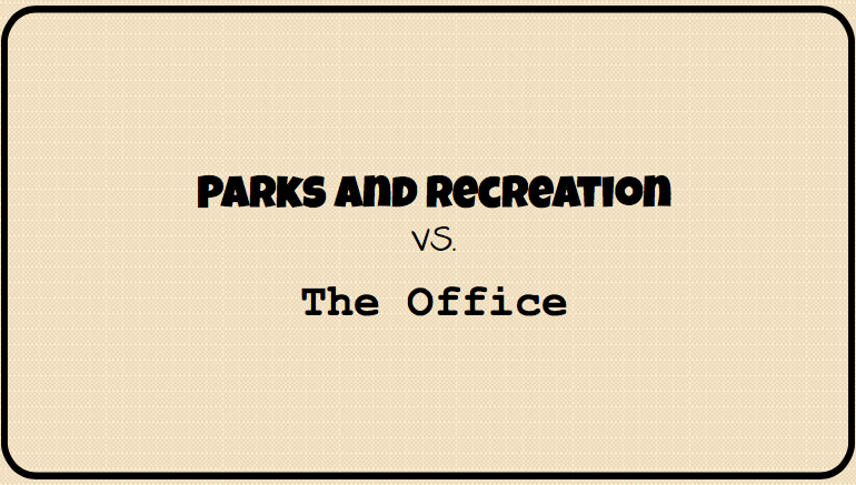 All+seasons+of+Parks+and+Rec+and+The+Office+are+currently+available+on+Netflix.