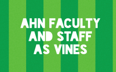 AHN Faculty and Staff as Vines