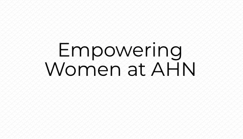 There were over 65 women along the halls of AHN. Photo Credit: Gabi Jordan/ Achona Online