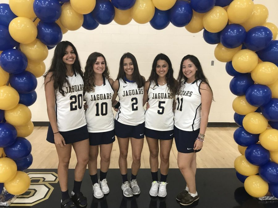 This senior class will be the first group of seniors to have been on the varsity team for 4 years since it is inaugural season. (Photo Credit: Mia Lopez/  Achona Online)