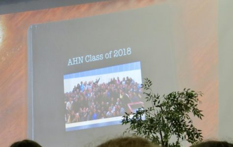 The Senior Farewell was an emotional event for the Seniors, especially when they saw videos from their underclassmen friends. Photo Credit: Callie Mellon/ Achona Online