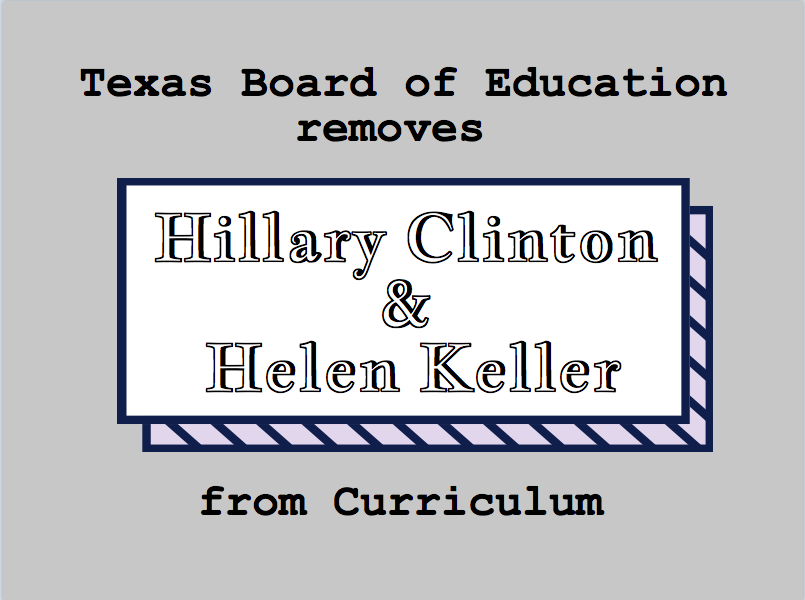 The Texas Board of Education is composed of 140 individuals.