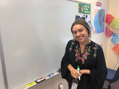 Paige Rodriguez has served on the Dominican Republic mission trip for 5 years: twice as an AHN student, once as an FSU student, and twice so far as a teacher.