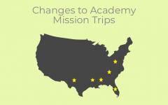 Academy offers trips to nine different service sites for Academy students