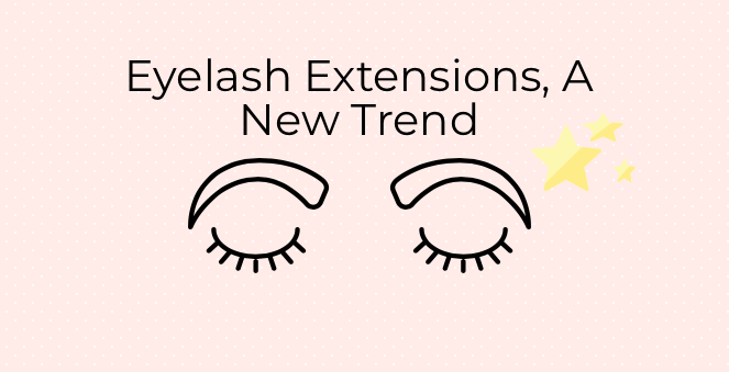 Eyelash Extensions were originally done by sewing human hair into the eyelids without anesthetics.