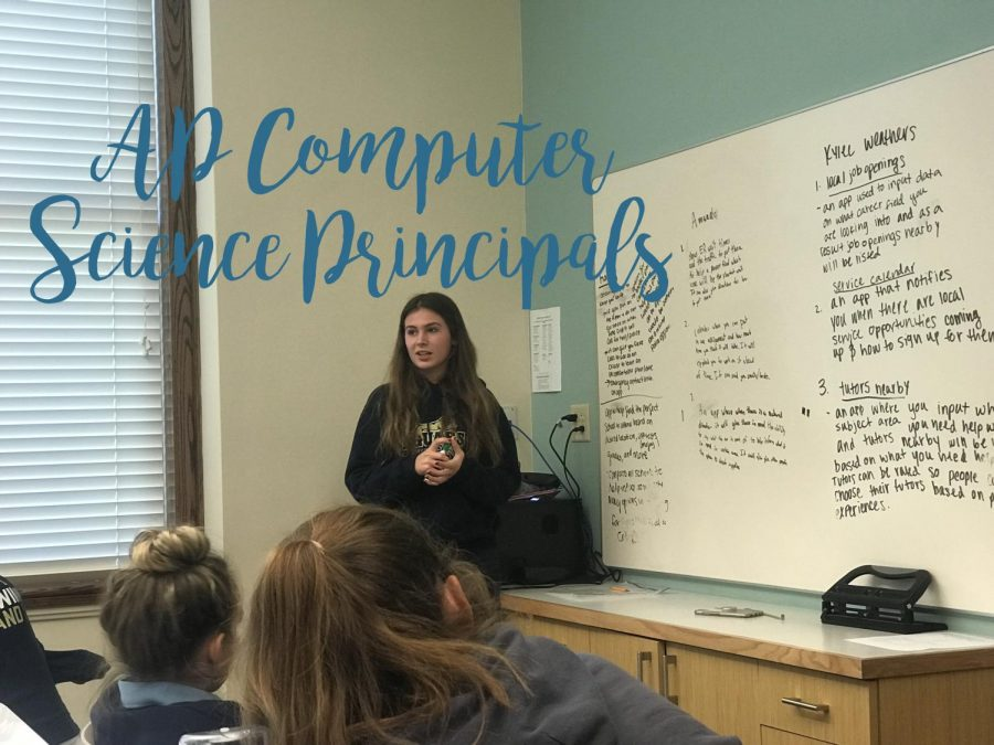 AP Computer Science Students Begin Designing Apps