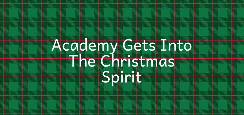 This year, Academy's Christmas break starts on December 22 and students return to school on January 7.