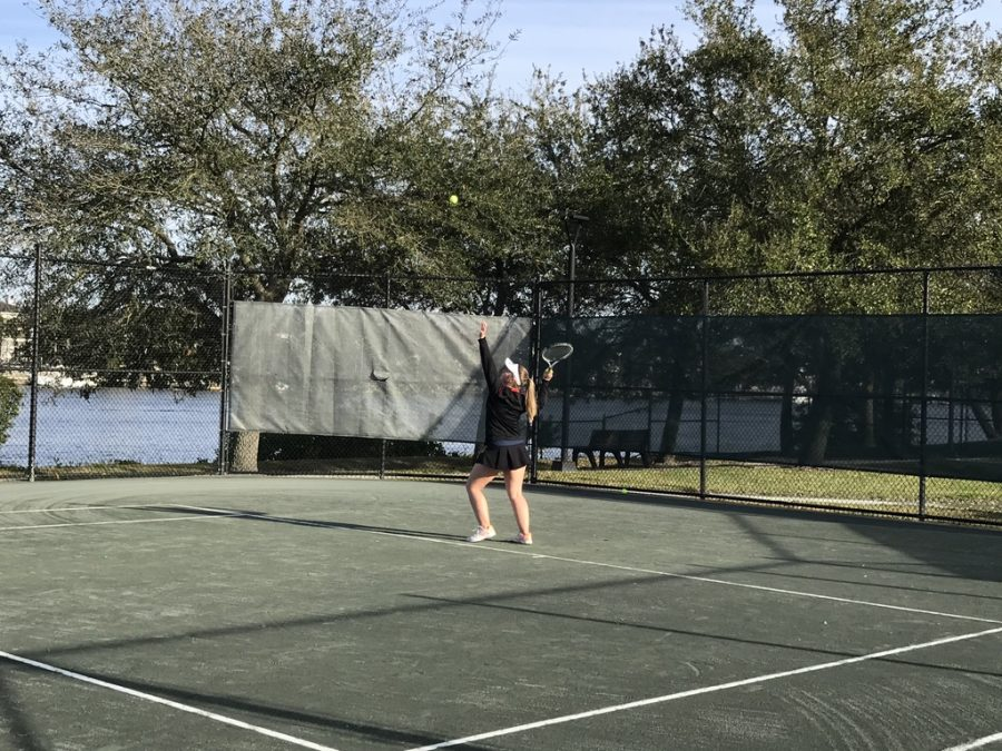 The tennis team at AHN was first established in 1974.