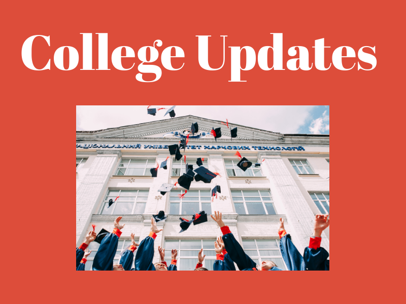 All seniors have until May 1, 2019, to decide where they want to go to college.