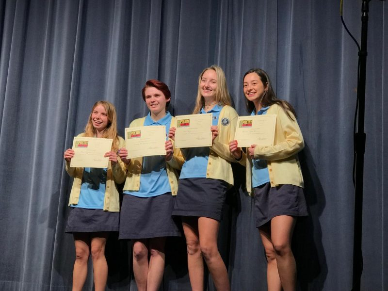 Poetry Out Loud was started at AHN in 2009.
