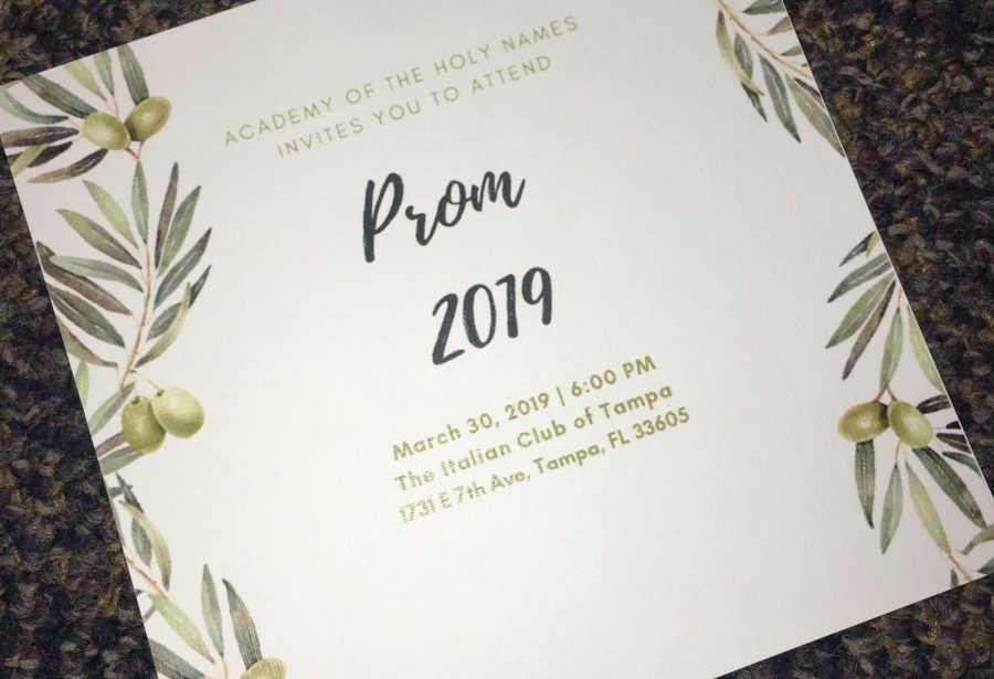 The Prom Committee announced the location and theme for this year's prom in early February.